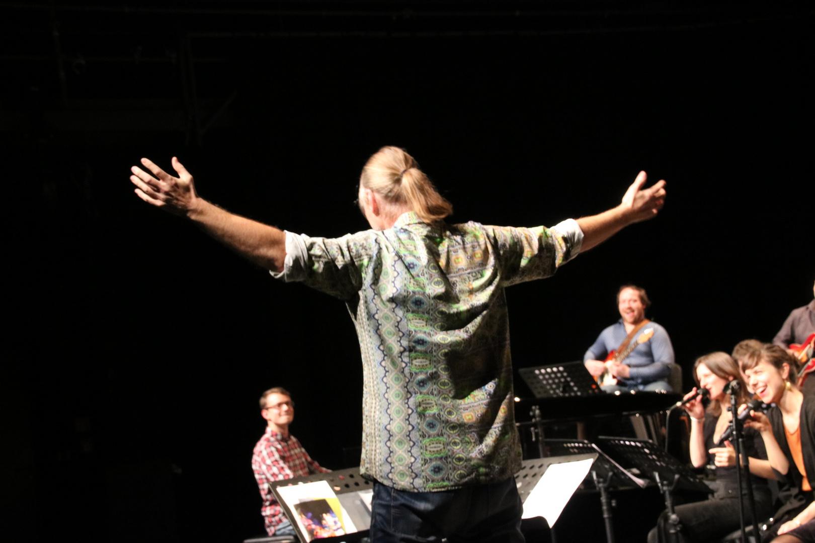 Jazztage Stgt 7/2016 Dirigent