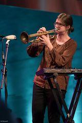 Jazztrompeterin Laura Jurd (UK)