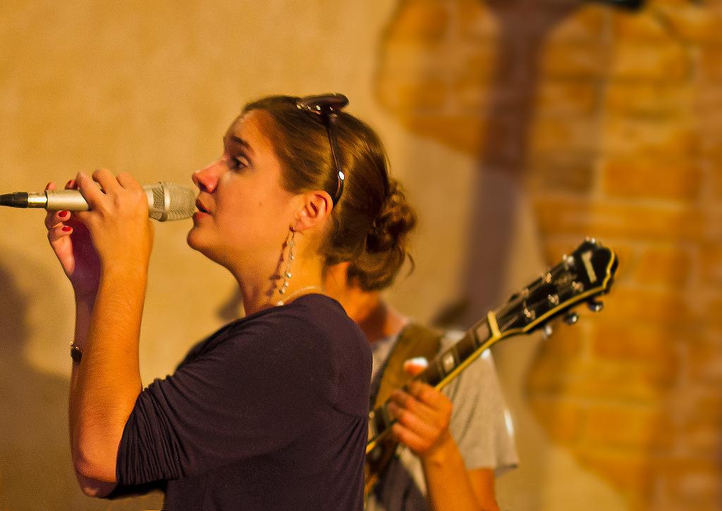 Jazzymotion, die Sängerin