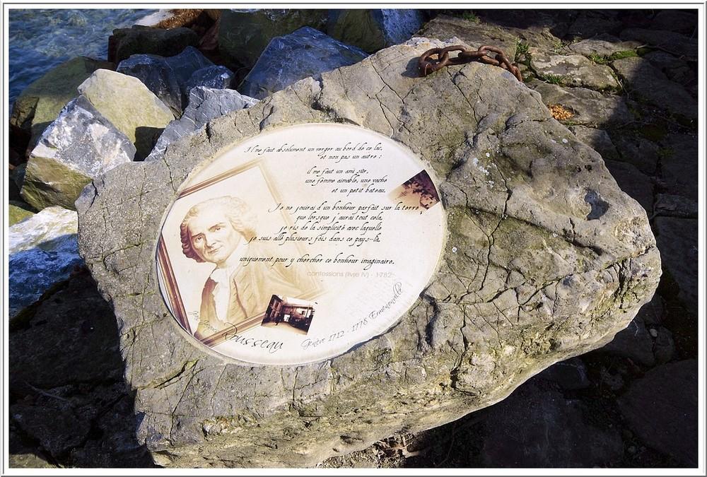 Jean Jacques Rousseau en promenade