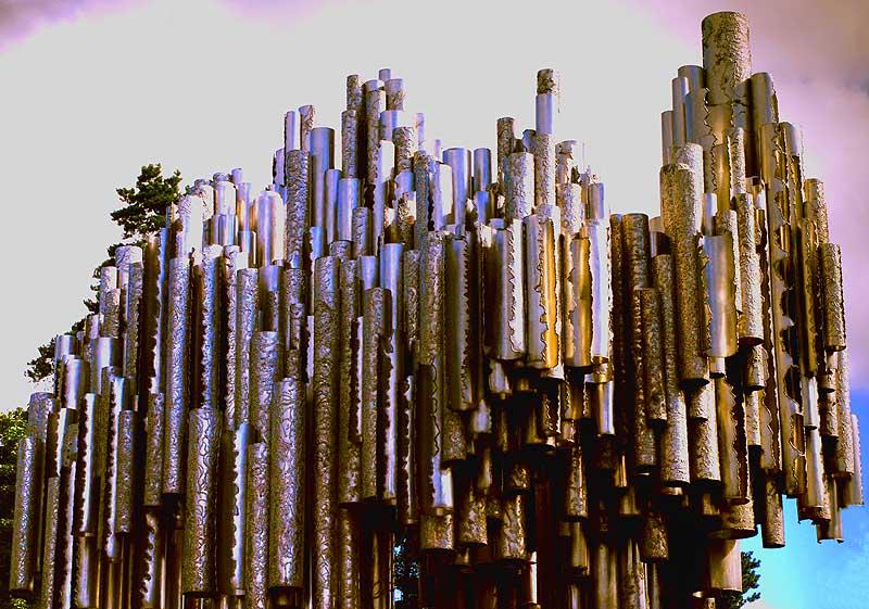 Jean Sibelius Monument ( Eila Hiltunen) Helsinki