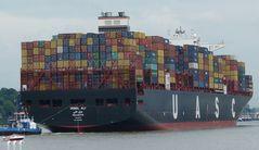 Jebel Ali Container-Neubau Erstanlauf HH