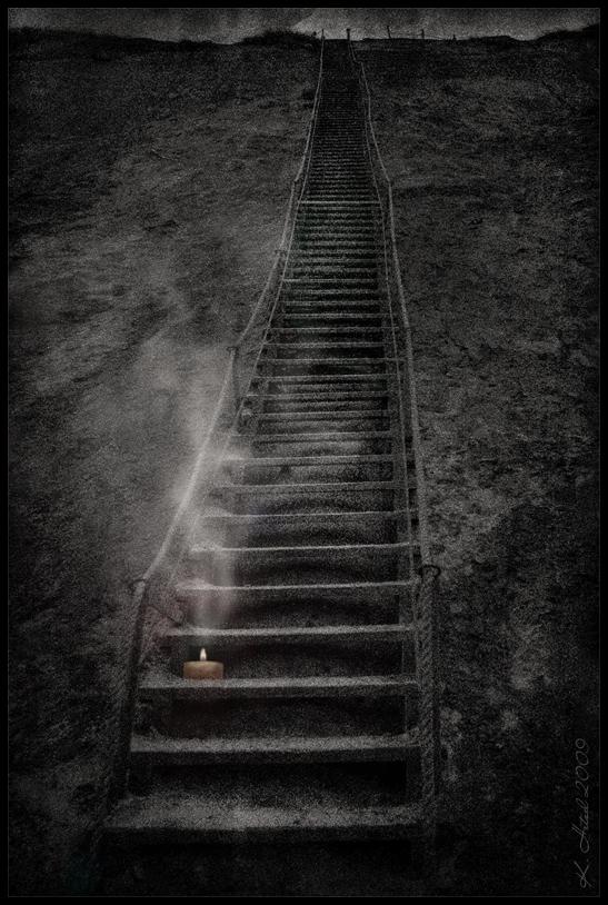 ...jede dieser Stufen...