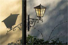 Jedes Licht wirft seinen Schatten