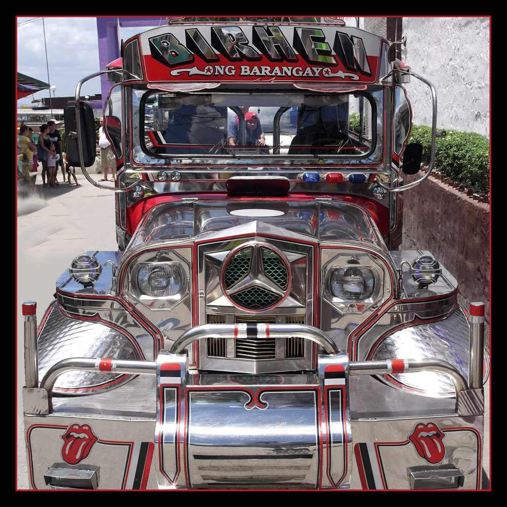 Jeepney auf Mindoro
