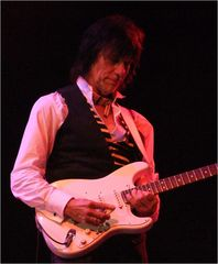 Jeff Beck live in Berlin - fiese Finger