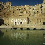 Jemen - Zisterne in Hababa
