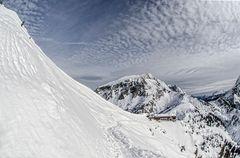 Jenner - Blick auf die Berggaststätte Jennerbahn
