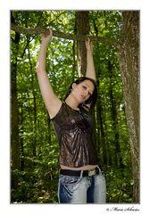 Jenny im Wald