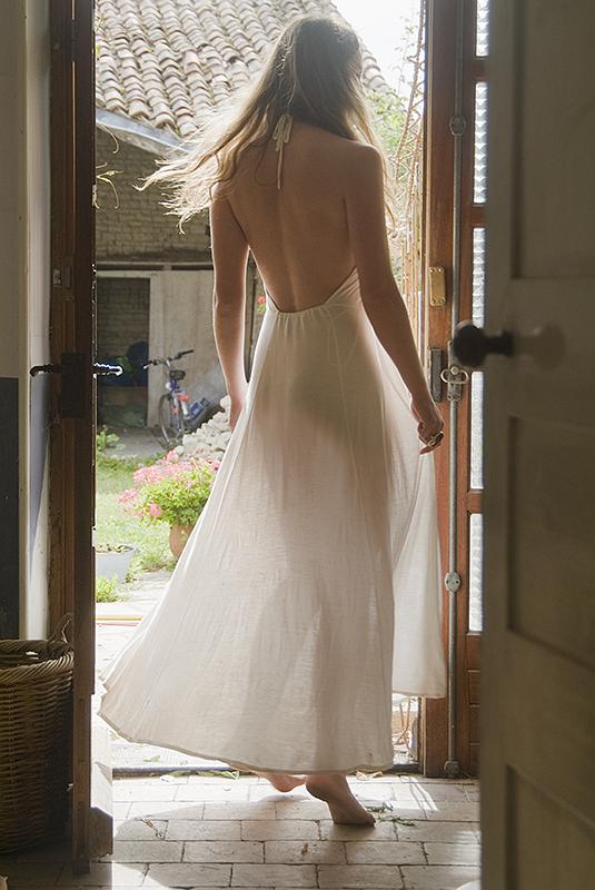 Jenny in the doorway