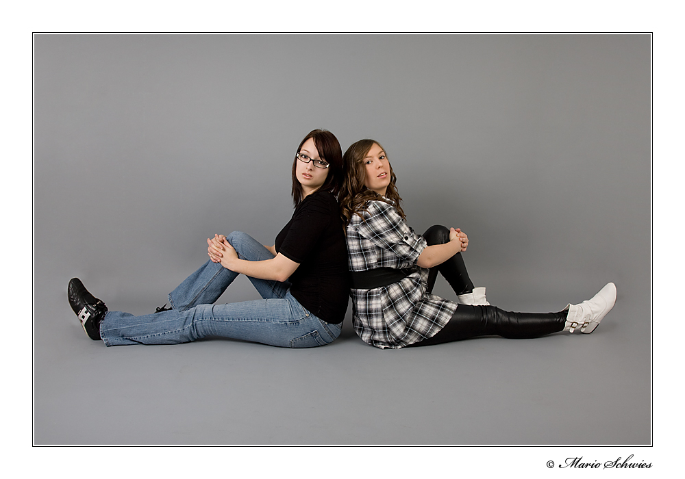Jenny und Naddy