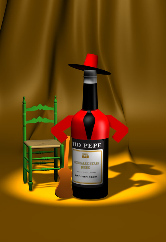 Jerez tio Pepe (tipical Spanish)