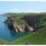 Jersey Steilküste