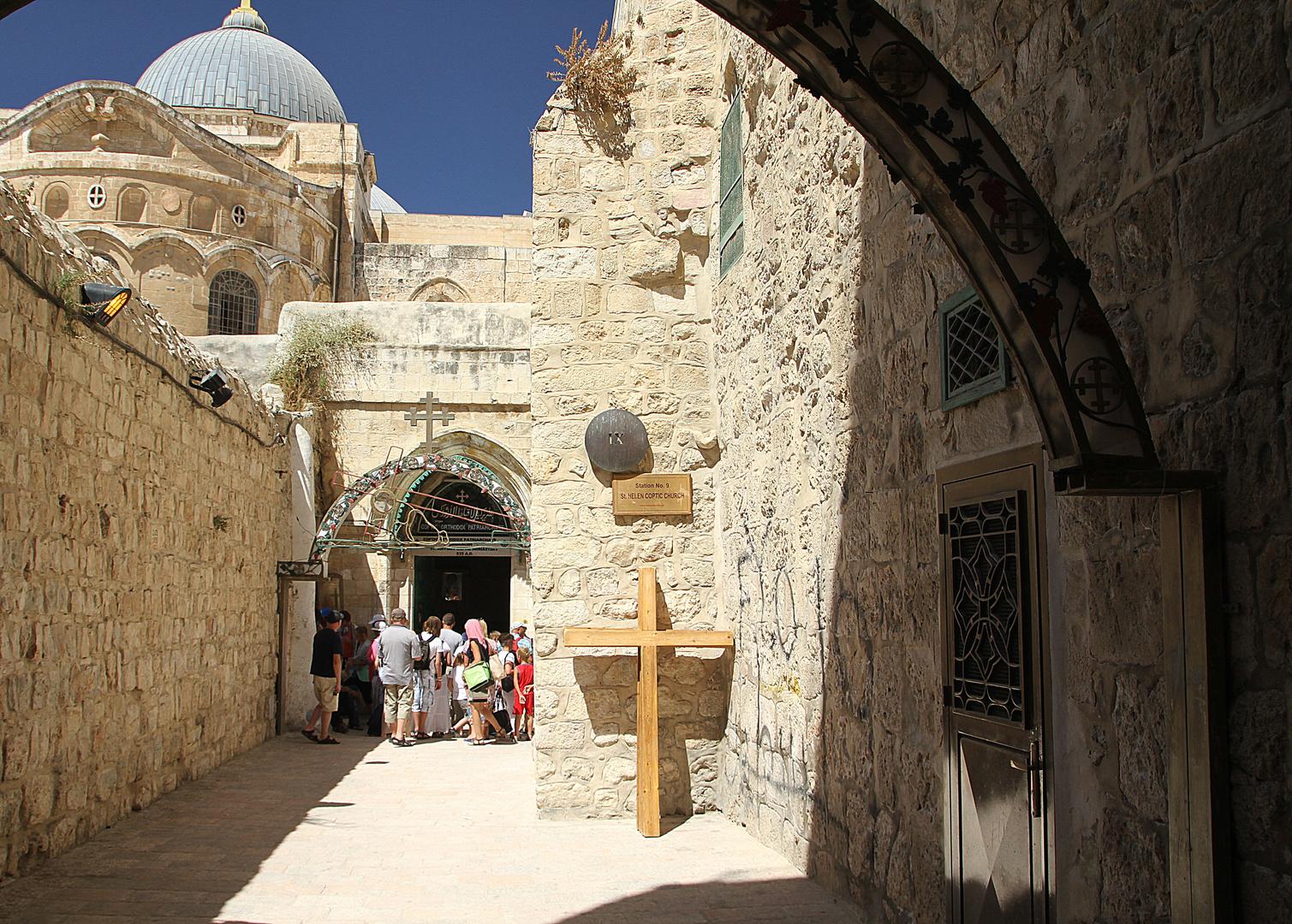 Jerusalem der Kreuzgang
