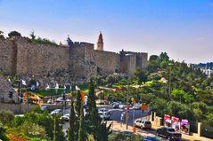 Jerusalem Teil Christliche und Jüdische heilige Stätten