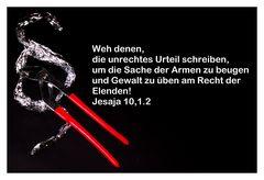 Jesaja 10,1+2