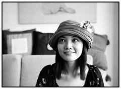 Jessie mit Hut