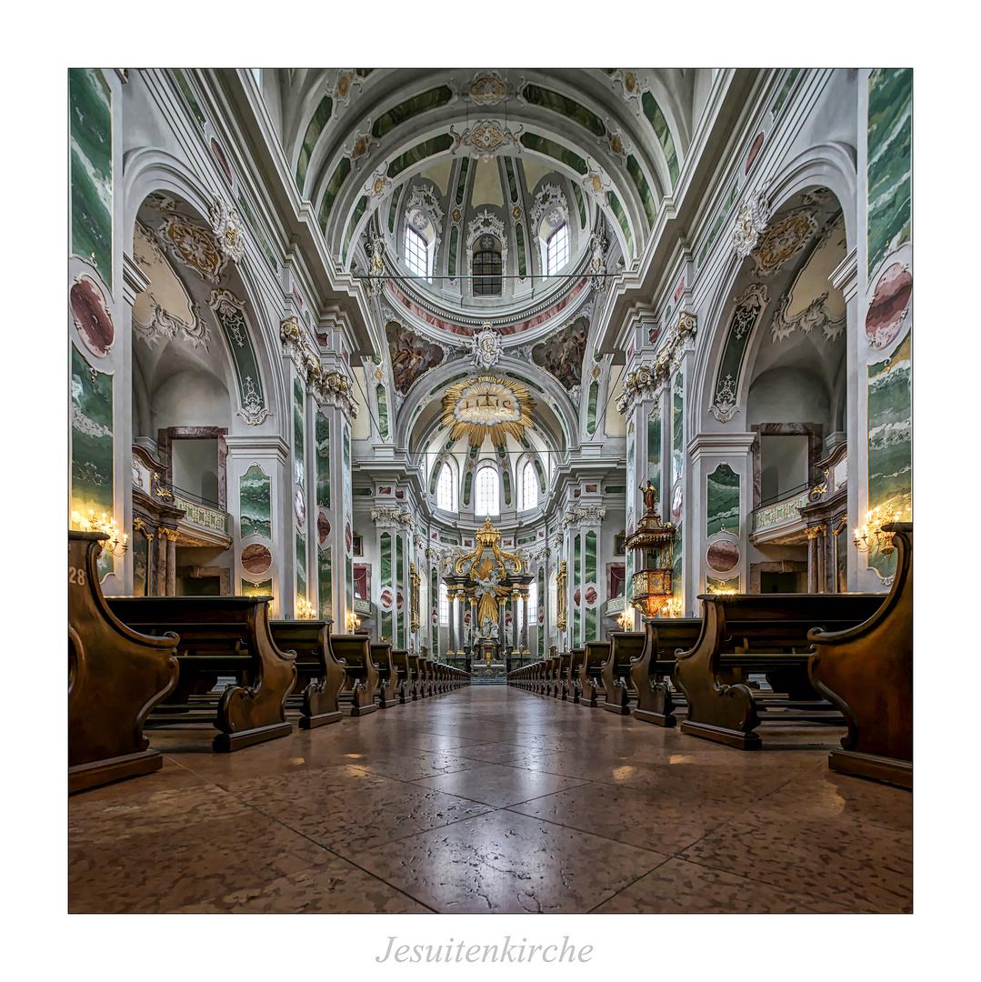 """Jesuitenkirche St. Ignatius und Franz Xaver  """" Gott zu Gefallen..."""""""