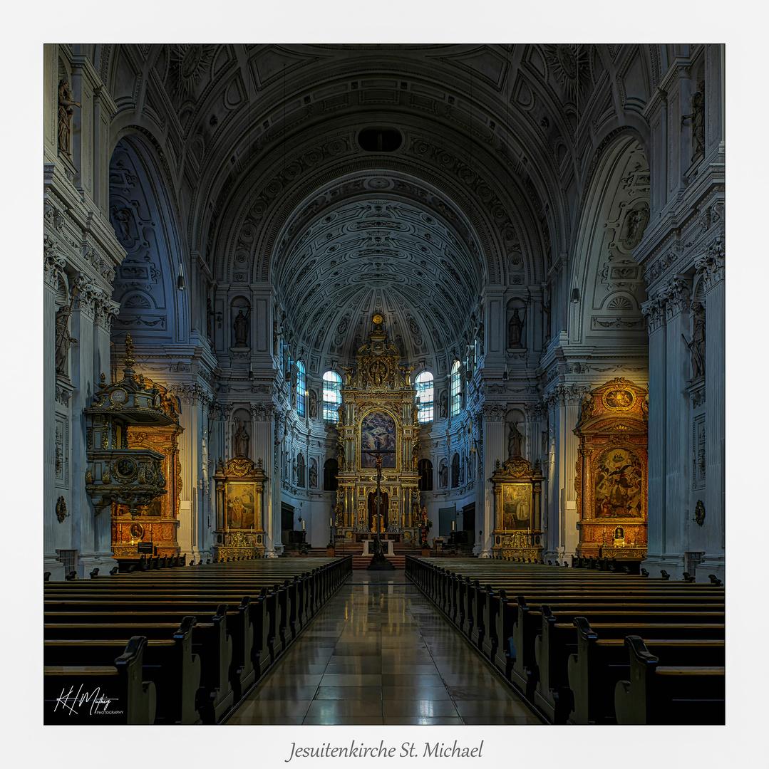 """Jesuitenkirche St. Michael - München """" Gott zu Gefallen..."""""""