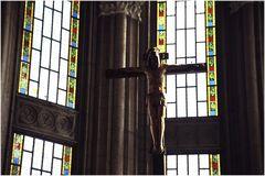 Jesus am Kreuz...