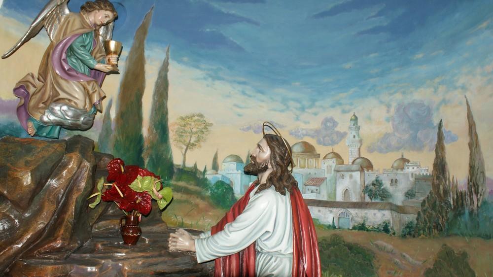 Jesus Im Garten Gethsemane Foto Bild Architektur Sakralbauten