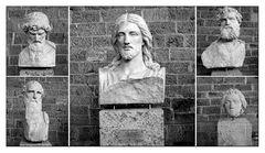 Jesus und die Evangelisten