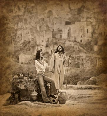 Jesus Und Die Frau Am Brunnen Foto Bild Erwachsene Prominente