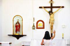 Jesús y María