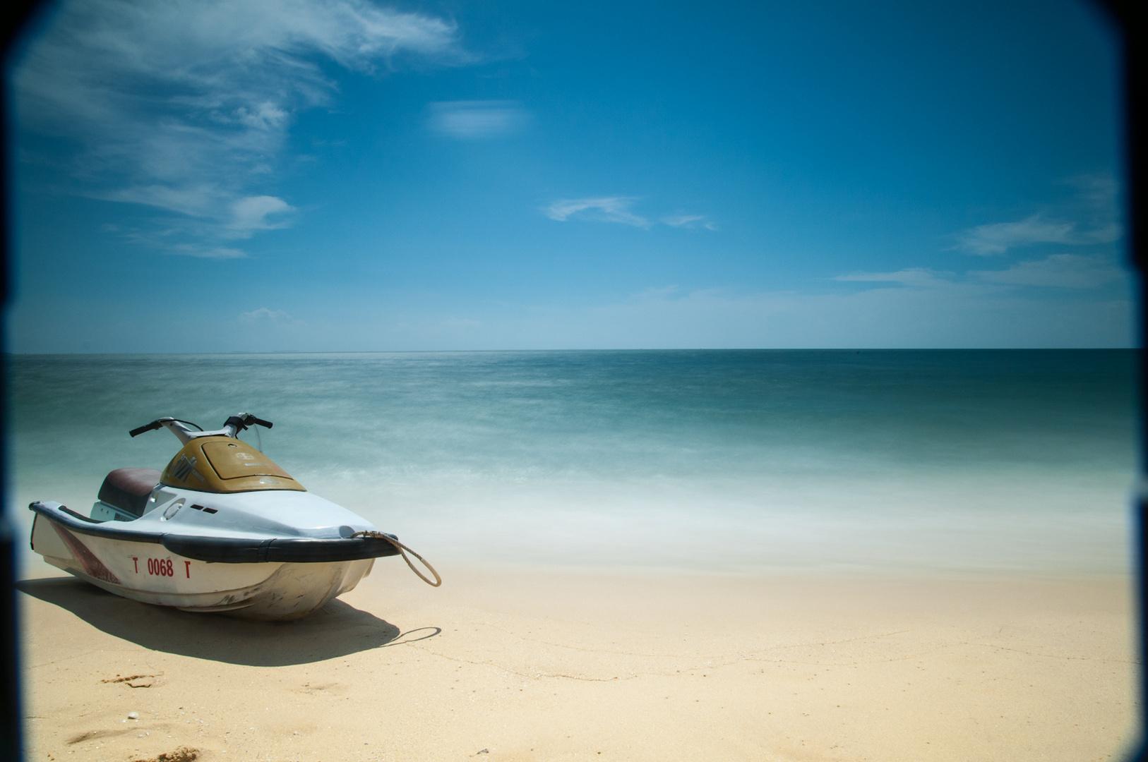 jetski foto bild landschaft meer strand meer. Black Bedroom Furniture Sets. Home Design Ideas