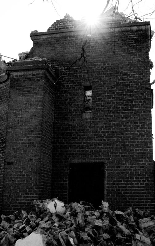 Jetzt eine Ruine....