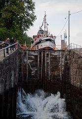 Jetzt geht´s abwärts - Telemarkkanal IV