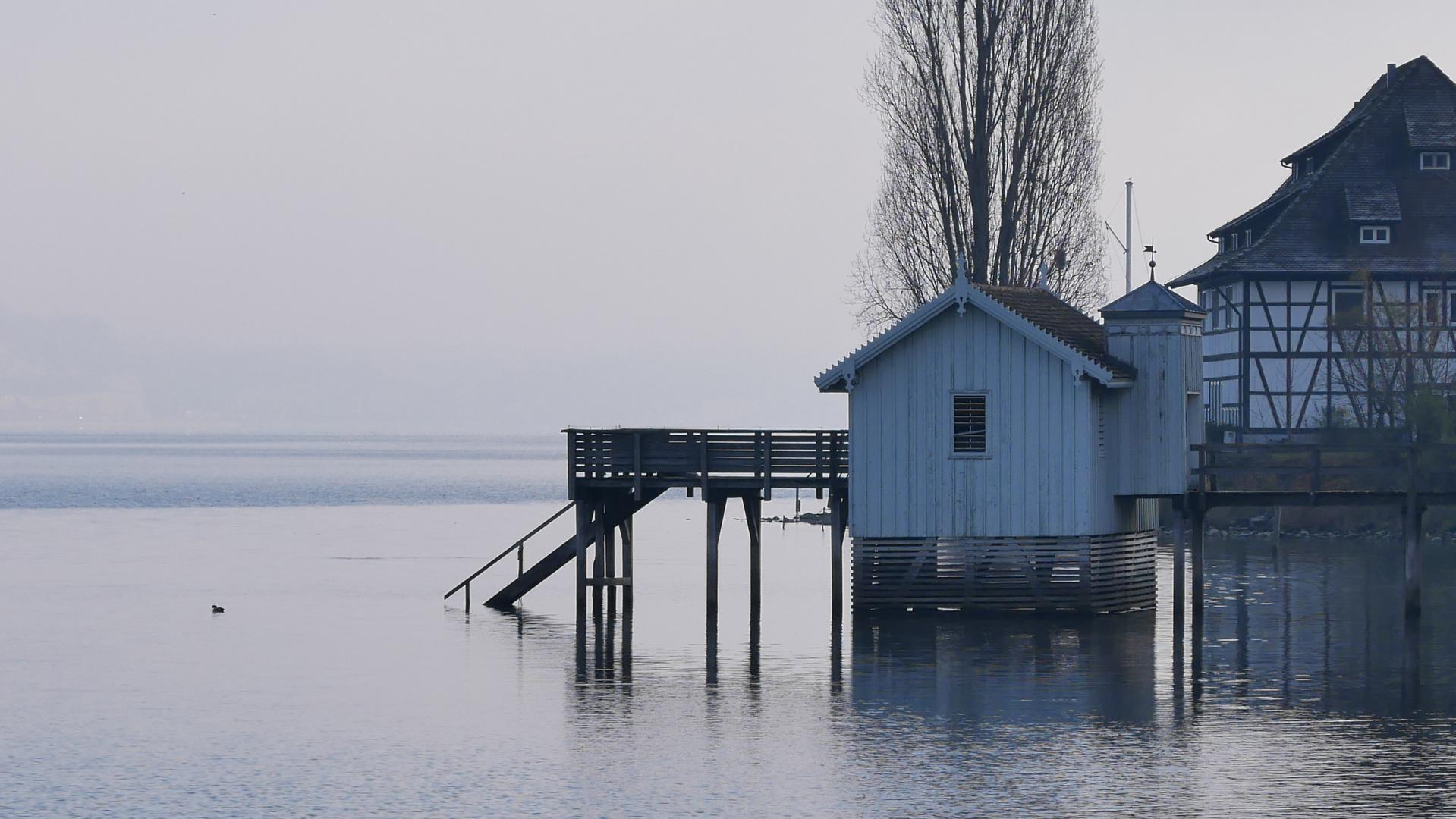 jetzt ist es still am See