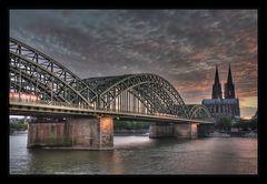 Jetzt ist wieder Ruhe in Köln.