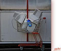 Jetzt neu im Supermarktregal...