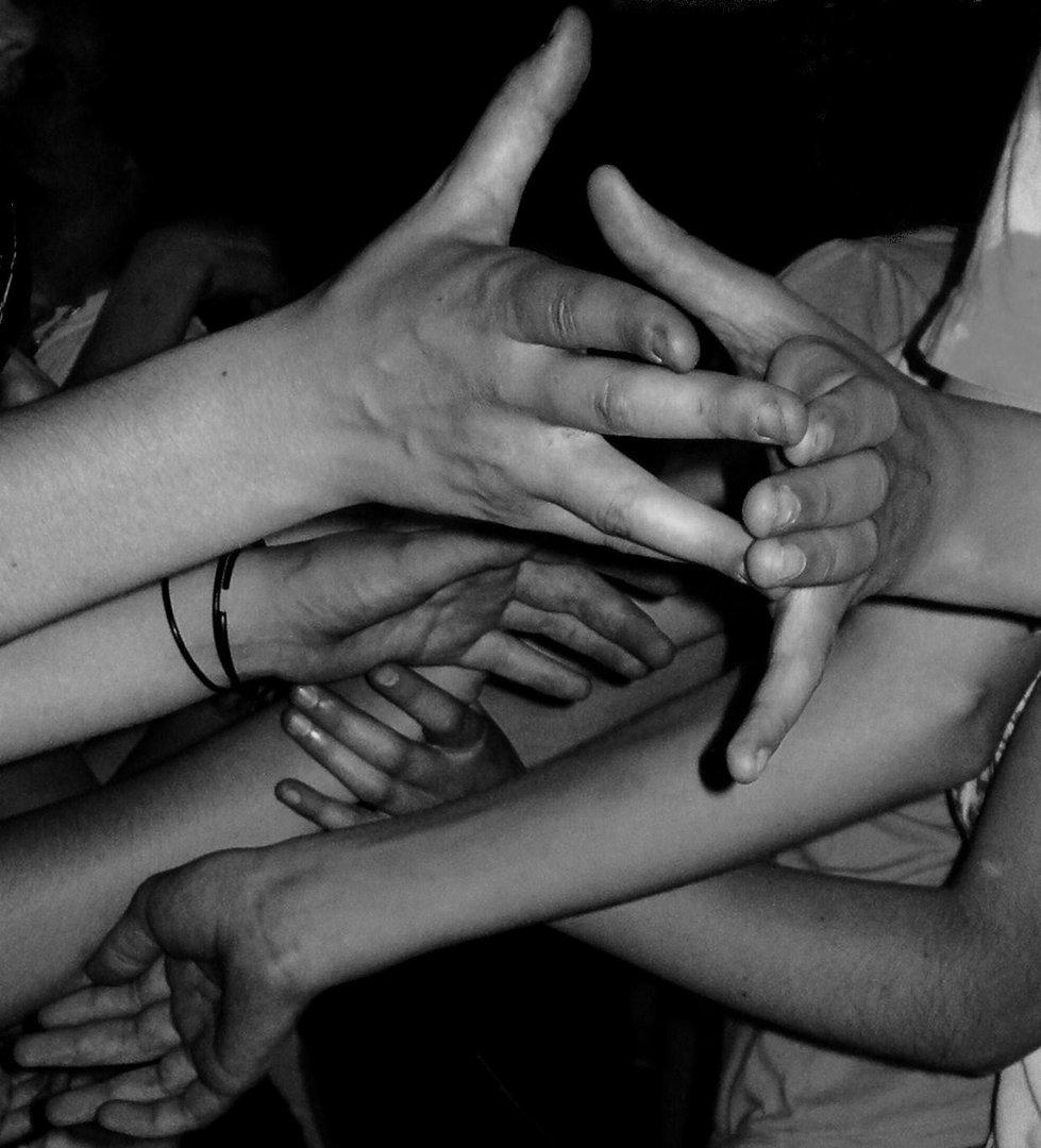 Jeu de mains...