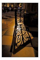 Jeu d'ombre à Notre Dame