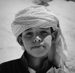 jeune bédouine