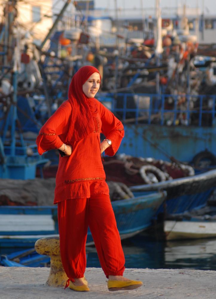 Jeune femme marocaine