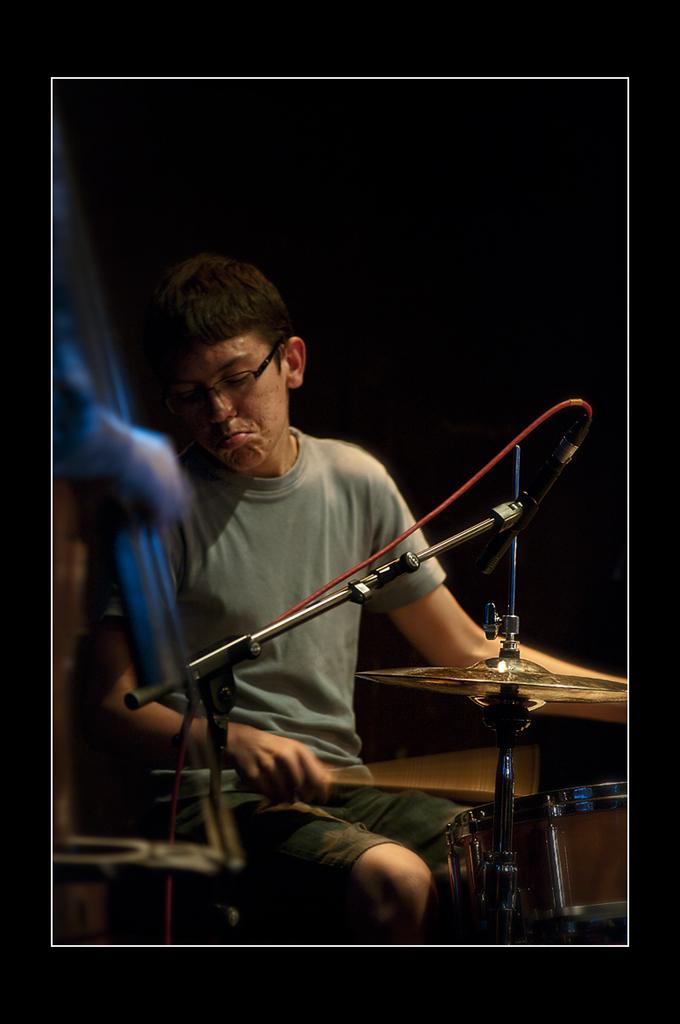 Jeune virtuose de jazz