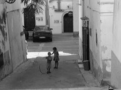 Jeux de rue.