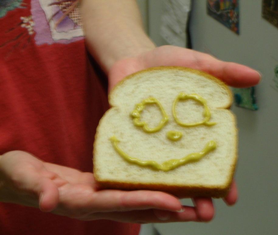 Jill makin' me a sandwich