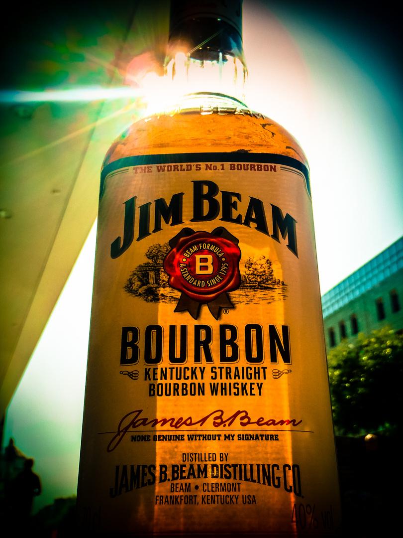 Jim Beam In The Sun