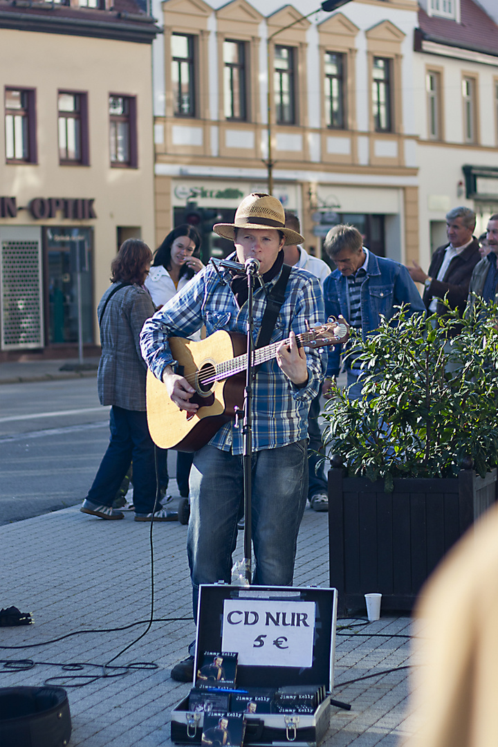 Jimmy Kelly in Lutherstadt Eisleben
