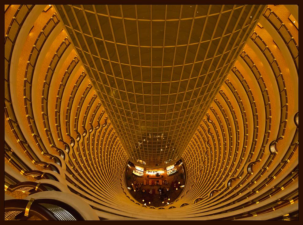 Jin Mao Tower Lobby