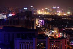 Jinhua am Abend