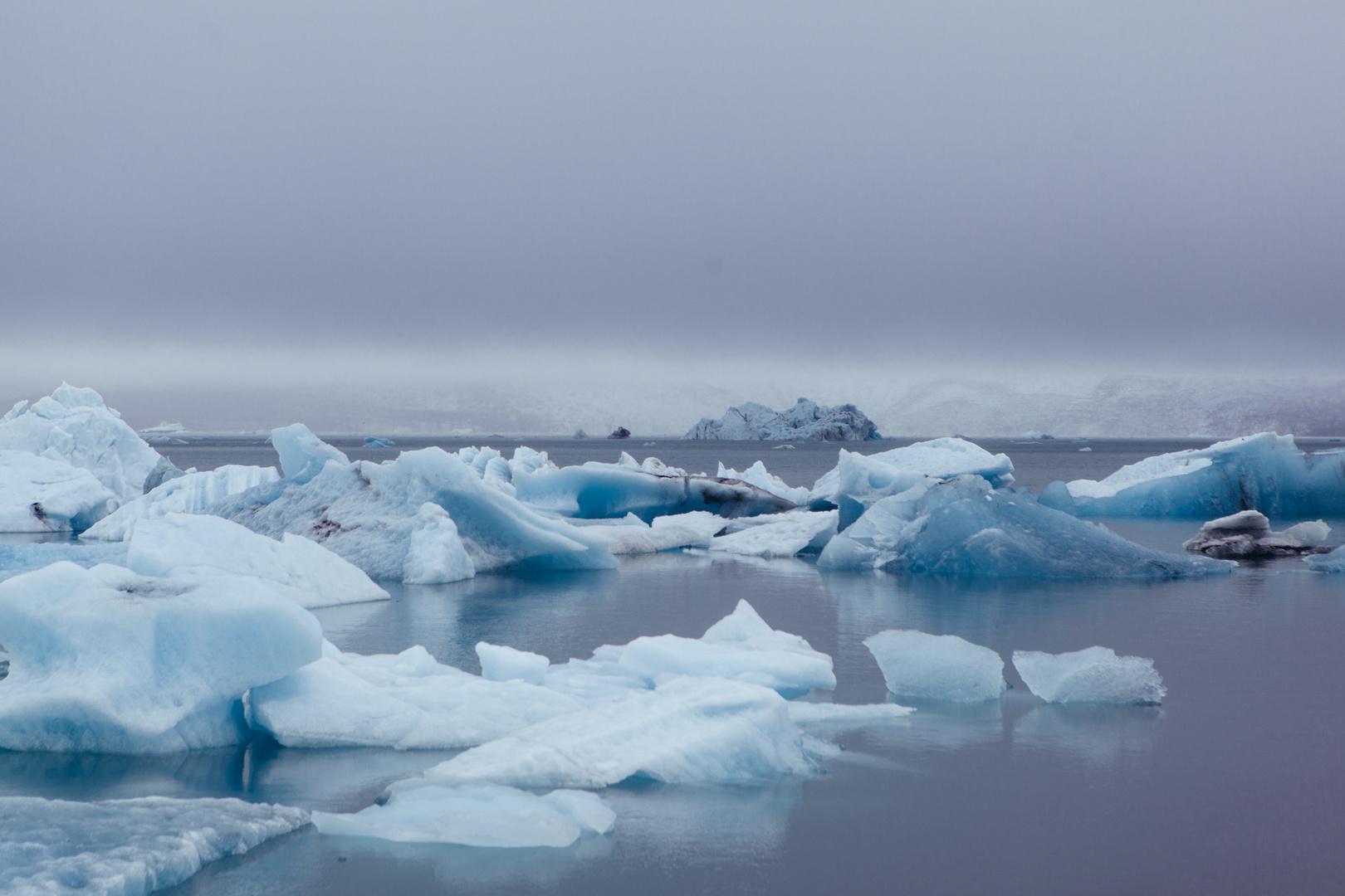 Jökulsárlón - Gletscherlagune