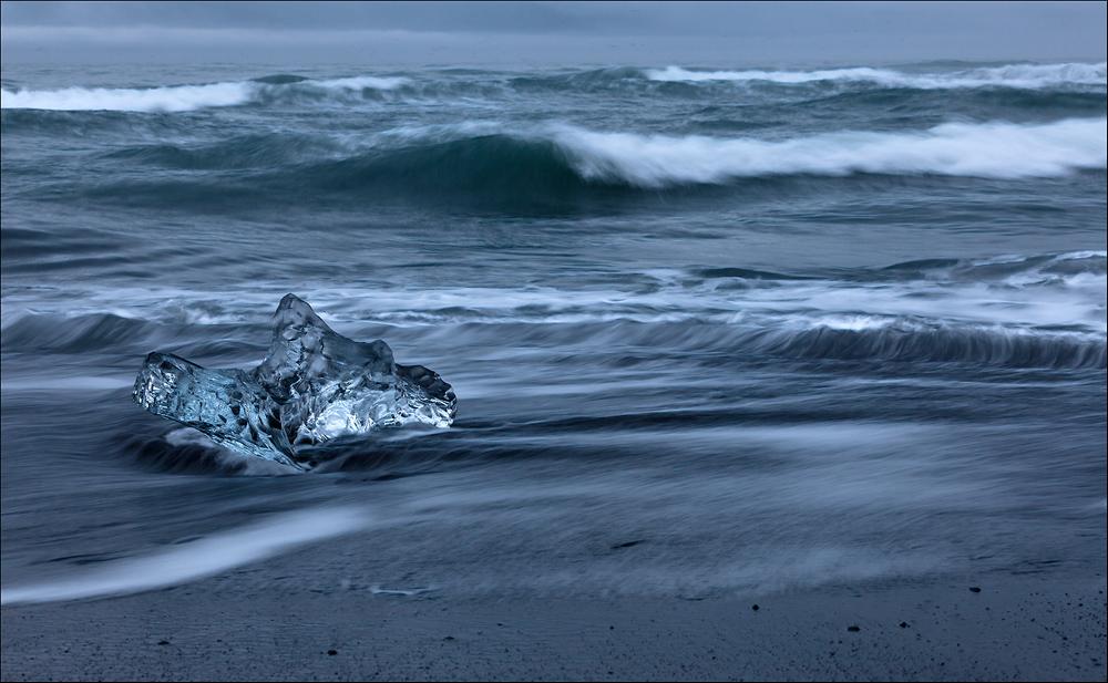 Jökulsárlón late night - Island #3060