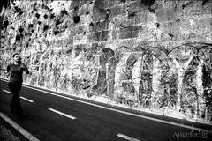 Jogging in Rome