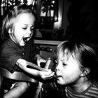 Joghurt teilen macht Spass!!!