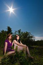 Johanna und Kirsten
